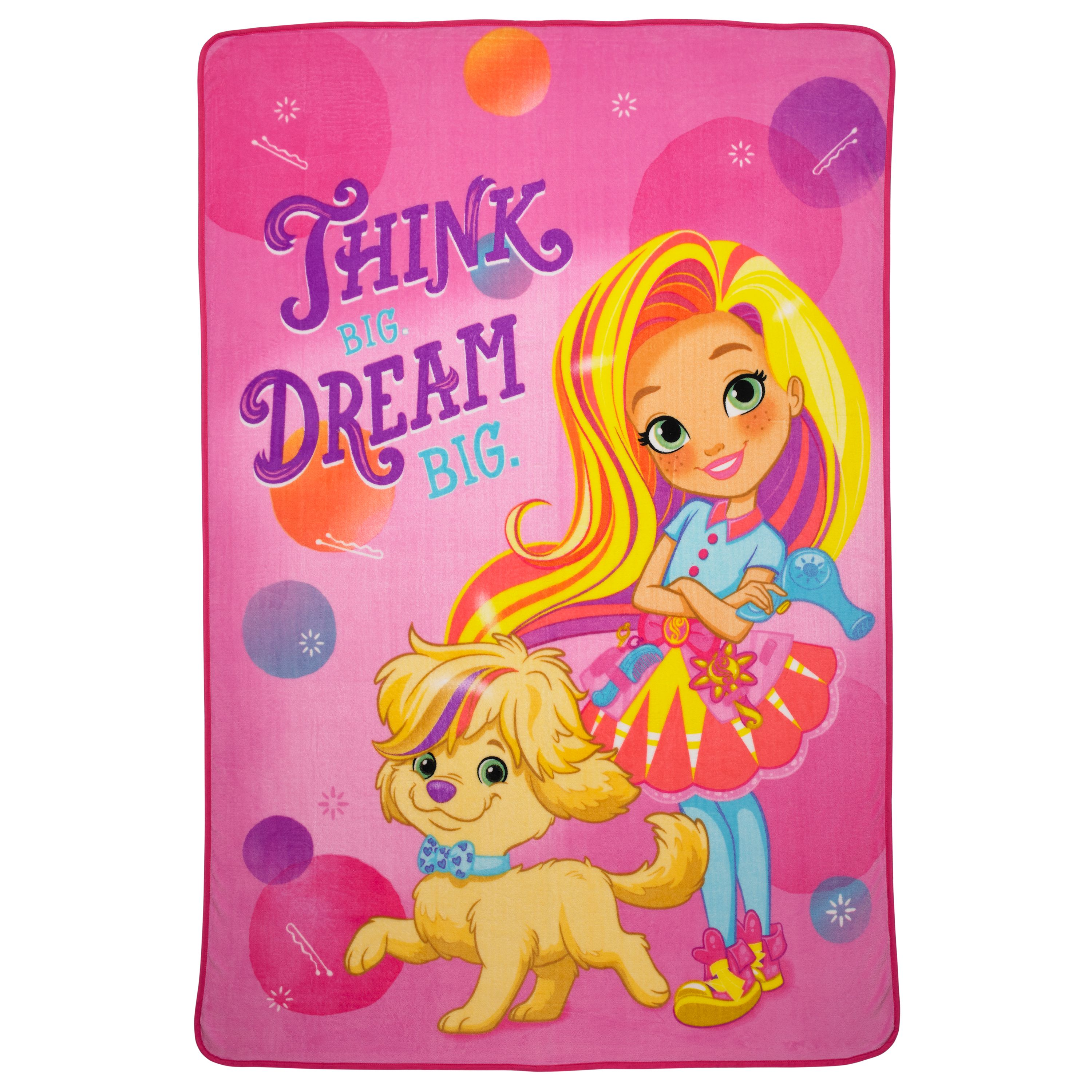 Sunny Day 'Sunny & Doodles' Kids Bedding Blanket, Twin