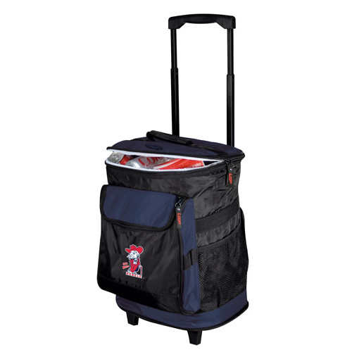 Ole Miss Rebels Rolling Cooler
