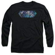 Masters Of The Universe Space Logo Mens Long Sleeve Shirt