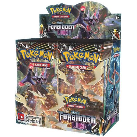 Pokemon TCG: Sun and Moon Forbidden Light Booster Box Contains 36 (No Gyms In Pokemon Sun And Moon)
