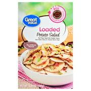 (3 Pack) Great Value Loaded Potato Salad, 5.25 oz