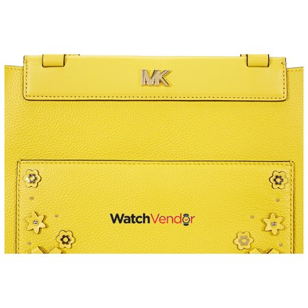66e004b456cc Michael Kors Meredith Medium East West Bonded Tote- Sunflower - image 1 of  5 ...