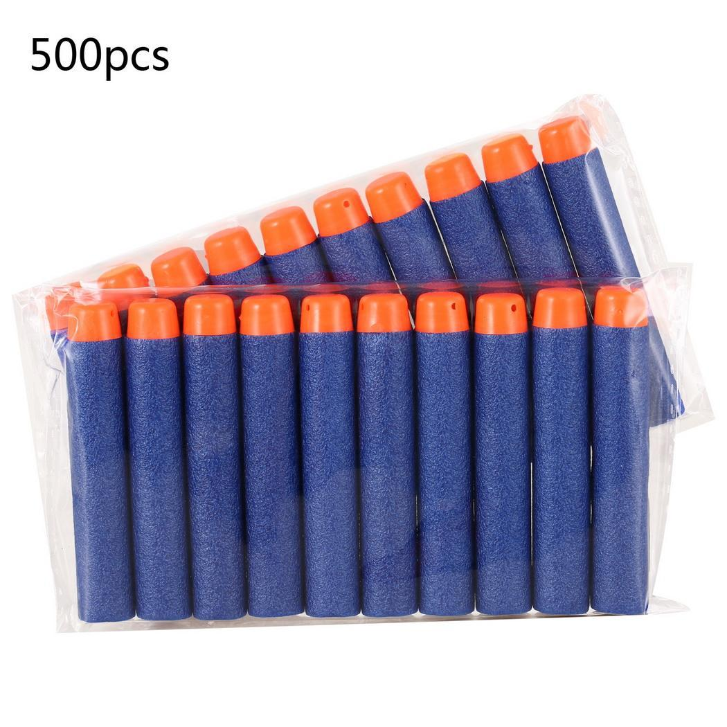 500 Pcs Soft Refill Darts for Toy Blaster