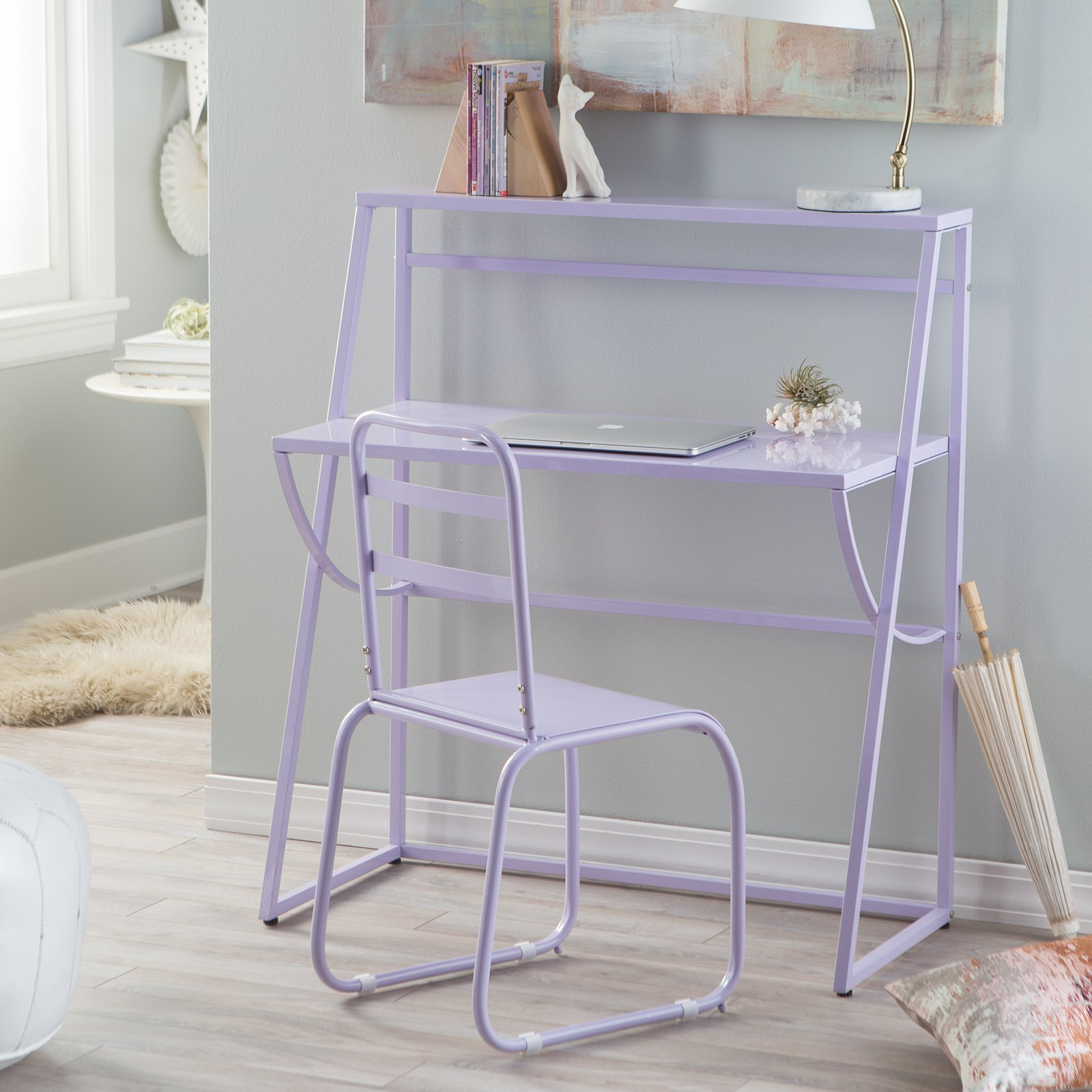 Classic Playtime Sydney Desk with Chair - Lavender