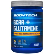 BCAA  Glutamine  Supports Muscle Endurance, Growth  Recovery with Essential Amino Acids (14.01 Ounce Powder) by BodyTech
