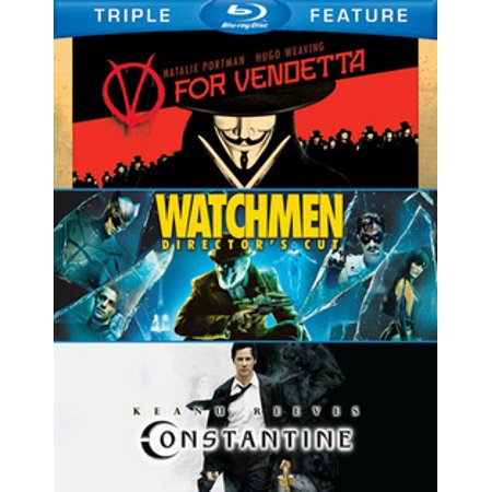 V for Vendetta / Watchmen / Constantine (Blu-ray) (V For Vendetta 5th Of November Speech)