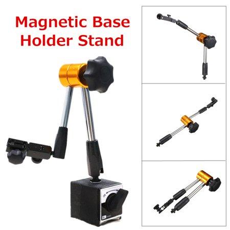 Universal Flexible Magnetic Metal Base Holder Stand Dial Test Indicator Tool (Metal Test)