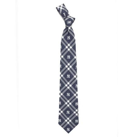 Henry New York Tie - New York Yankees Rhodes Tie - Navy - No Size