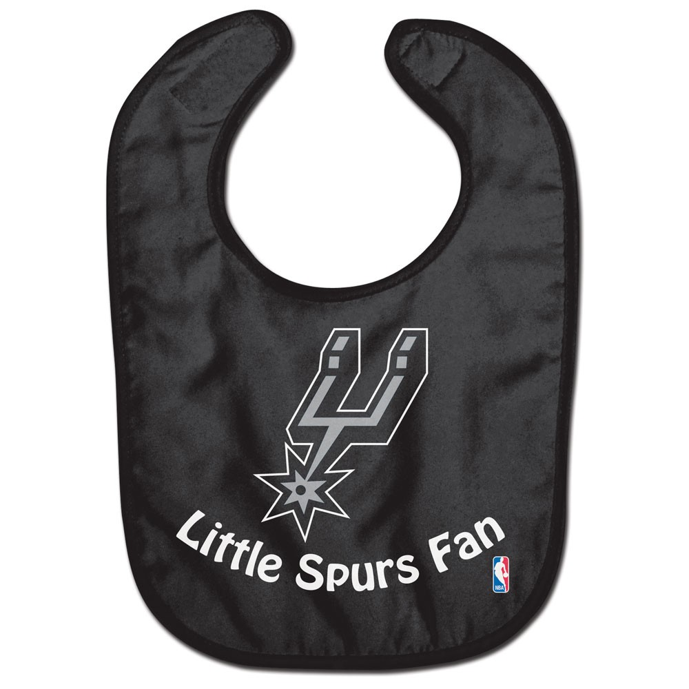 San Antonio Spurs Official NBA  Baby Bib All Pro Style by Wincraft