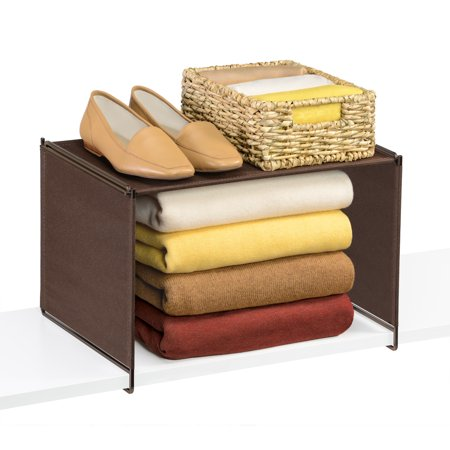 Lynk ® Velaâ ¢ Closet Shelf Organizer - Extra Shelf - Bronze