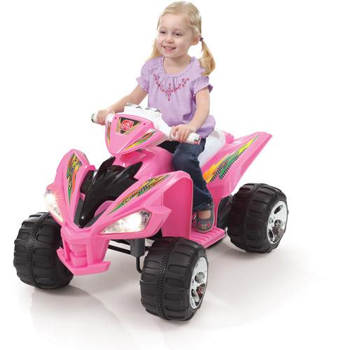 Step2 Super Quad 12-Volt Battery-Powered Ride-On, Pink