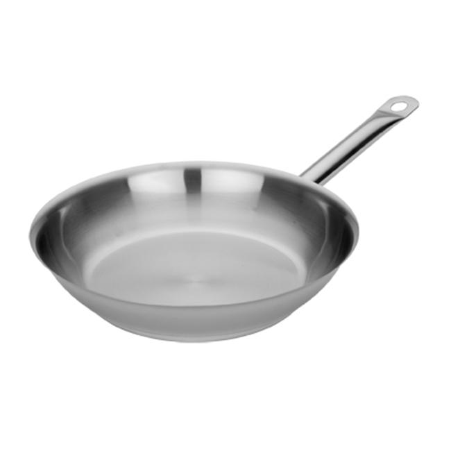 MIU France 95038 Stainless Steel Stay-Cool 10 Inch Open Fry Pan