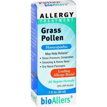 bioAllers Allergy Relief, Liquid, Grass Pollen, 1
