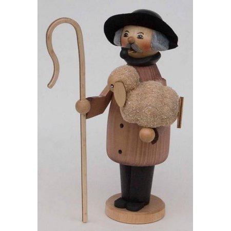 - Shepherd with his Sheep German Christmas Incense Smoker Made in Germany Burner