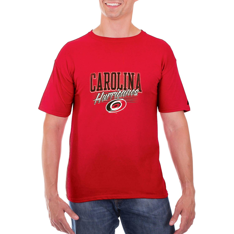 NHL Carolina Hurricanes Big Men's Classic-Fit Cotton Jersey T-Shirt