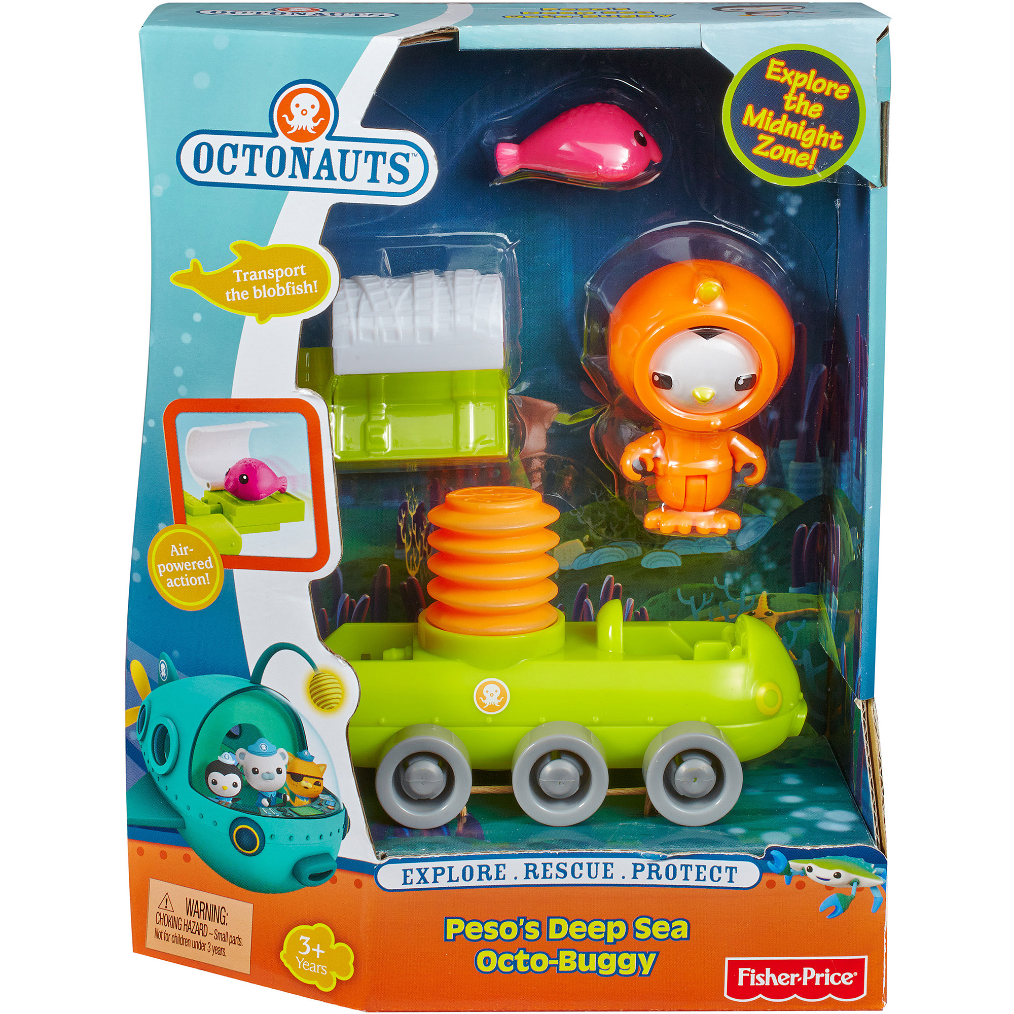 Fisher-Price Octonauts Peso's Deep Sea Octo-Buggy Play Set