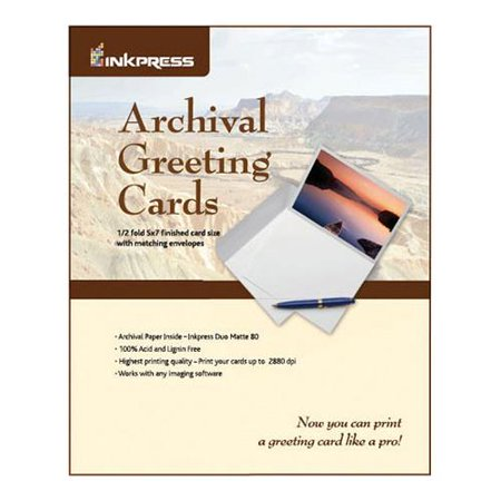 Archival greeting cards for inkjet 7x10ampquot scored archival archival greeting cards for inkjet 7x10ampquot scored archival greeting card paper m4hsunfo