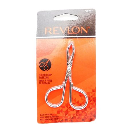 Revlon scissor grip tweezing slant - Cushion Grip Tweezer