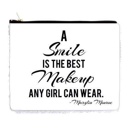 A Smile Is The Best Makeup Any Girl Can Wear - Marylin Monroe - 6.5