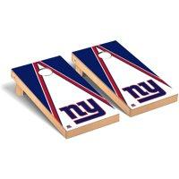 New York Giants 2' x 4' Triangle Cornhole Board Set