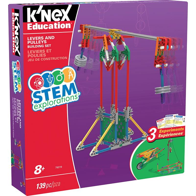 KNEX STEM LEVER/PULLEY BUILDING SET