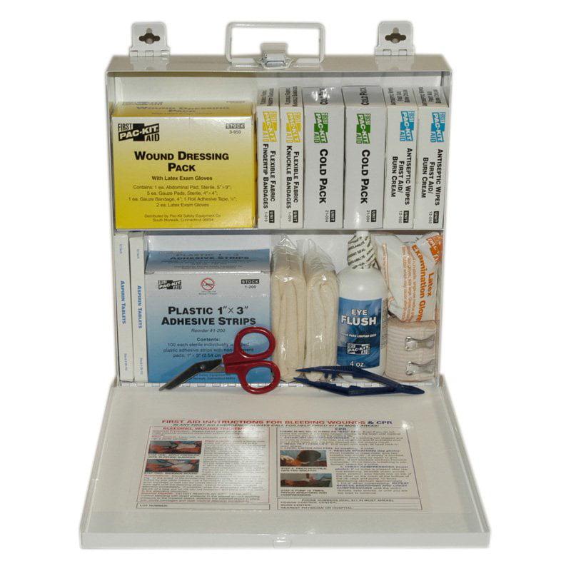 Pac-Kit ANSI Plus 50 Person Steel First Aid Kit