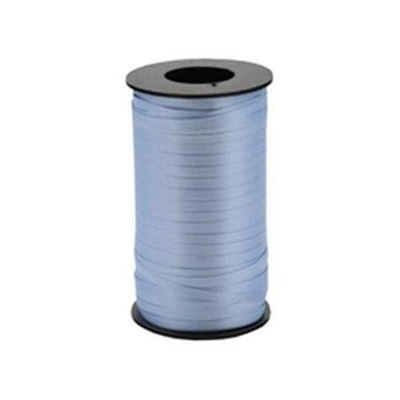 Berwick 3/8-Inch Wide by 250 Yard Spool Super Curl Crimped Splendorette Curling Ribbon, Light Blue