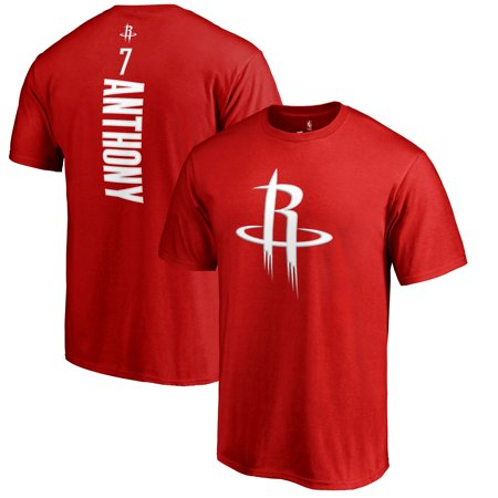 Carmelo Anthony Houston Rockets Fanatics Branded Backer Name & Number T-Shirt - (Carmelo Anthony Autographed Basketball)