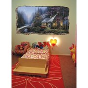 Startonight 3D Mural Wall Art Photo Decor Fairy Landscape Amazing Dual View Surprise Wall Mural Wallpaper for Bedroom Fantasy Wall Paper Art Gift Large 47.24 ?? By 86.61 ??
