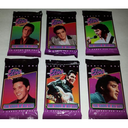 1992 Elvis Presley The Elvis Collection Series 1 Trading Cards
