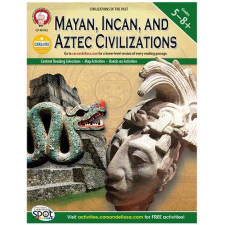 Mayan, Incan, and Aztec Civilizations, Grades 5 -