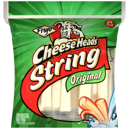 Frigo Cheese Heads Original String Cheese, 24 count, 24 oz