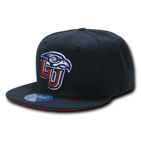 NCAA Liberty University Freshmen College Fitted Caps Hats 6 7/8 Navy