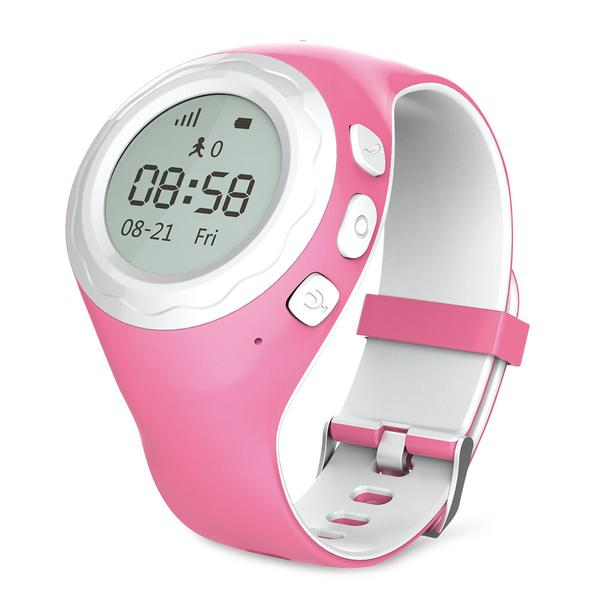 WATCHU The GPS Tracking Phone Watch for Kids, blue by