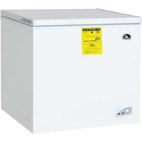 Midea 5 cu ft Chest Freezer White Walmartcom