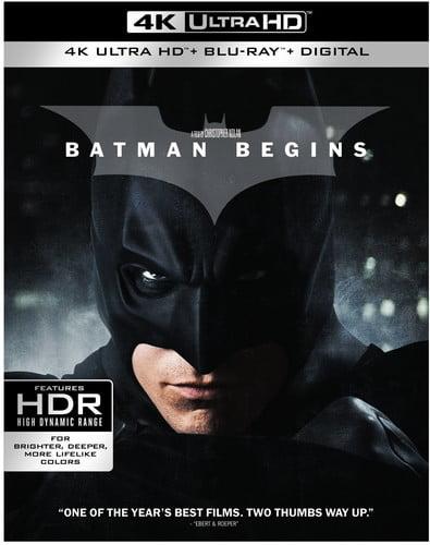 Batman Begins (4K Ultra HD) by WARNER HOME VIDEO