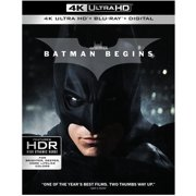 Batman Begins (4K Ultra HD) by WARNER HOME VIDEO