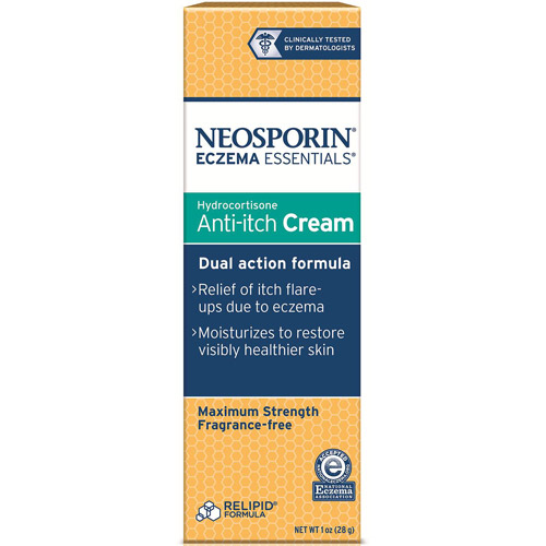 NEOSPORIN ECZEMA ESSENTIALS 1% Hydrocortisone Anti-itch Cream