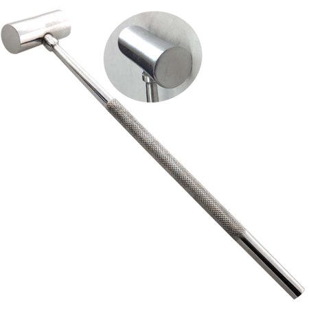8 Inch Stainless Steel Hammer With 1/2 Inch Flat Striking Surface On Each Side, Plus Textured Handle :(Units= 24) 1/2' Sds Plus Hammer