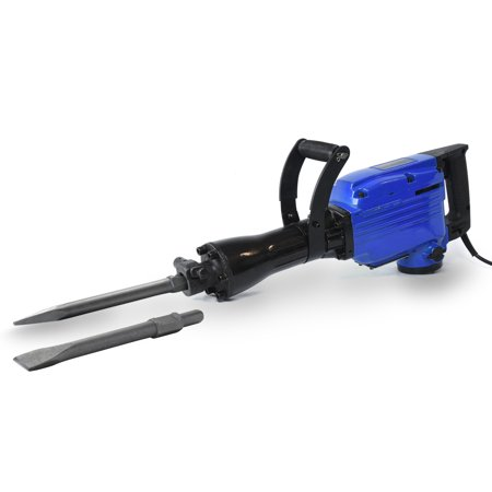 3/4 Electric Hammer Drill (Hiltex 3600W Electric Demolition Concrete Jack Hammer | Foundation Breaker Chipper)