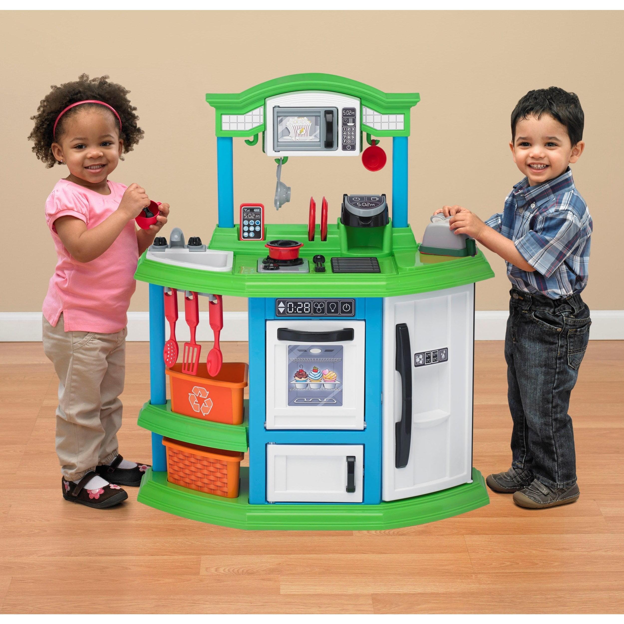 Strange American Plastic Toys Cozy Comfort Kitchen Ft 22 Download Free Architecture Designs Lukepmadebymaigaardcom