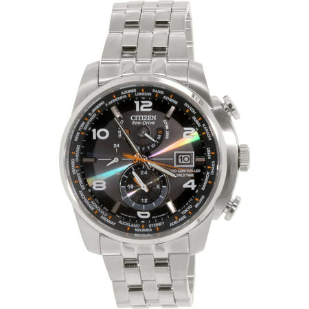 - Eco-Drive World Time AT Radio Men's Watch, AT9010-52E