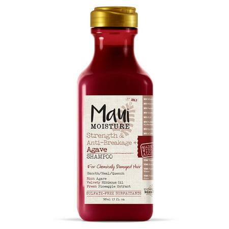 Maui Moisture Strength & Anti-Breakage + Agave Hair Shampoo, 13 FL