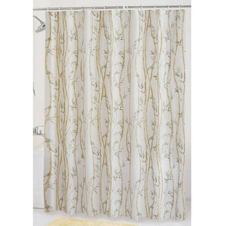 Mainstays Bamboo Garden PEVA Shower Curtain - Walmart.com