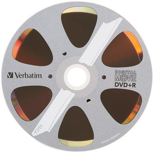 Verbatim 97936 DigitalMovie DVD Recordable Media - DVD R - 8x - 4.70 GB - 10 Pack Box - Bulk OEM