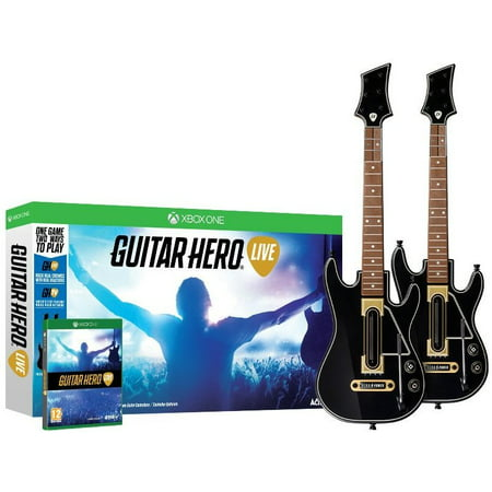 Guitar Hero Live 2-Pack Bundle - Xbox One (PRE-OWNED) - This Is Halloween Guitar Hero 3