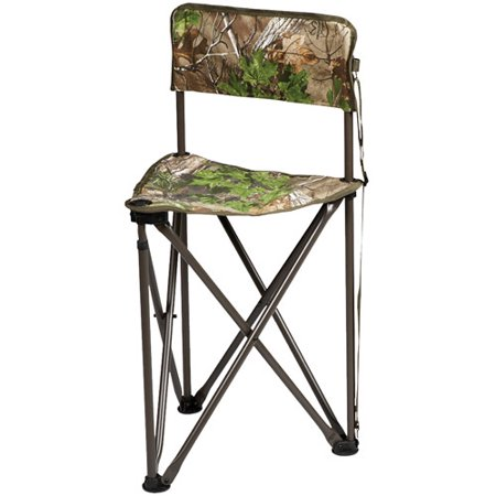 Hunters Specialties Camo Furniture Tripod Chair, Realtree Xtra