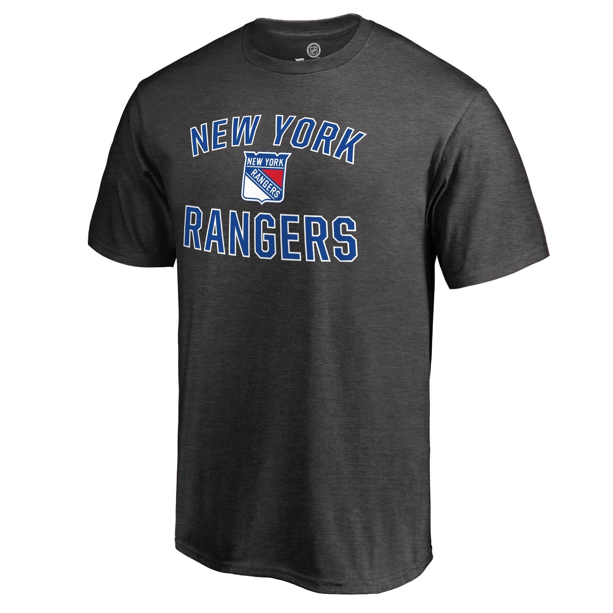 New York Rangers Victory Arch T-Shirt - Dark Gray