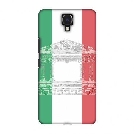 - Infinix Note 4 Case, Premium Handcrafted Printed Designer Hard Snap on Shell Case Back Cover with Screen Cleaning Kit for Infinix Note 4 - The Pantheon of Rome- Italy flag