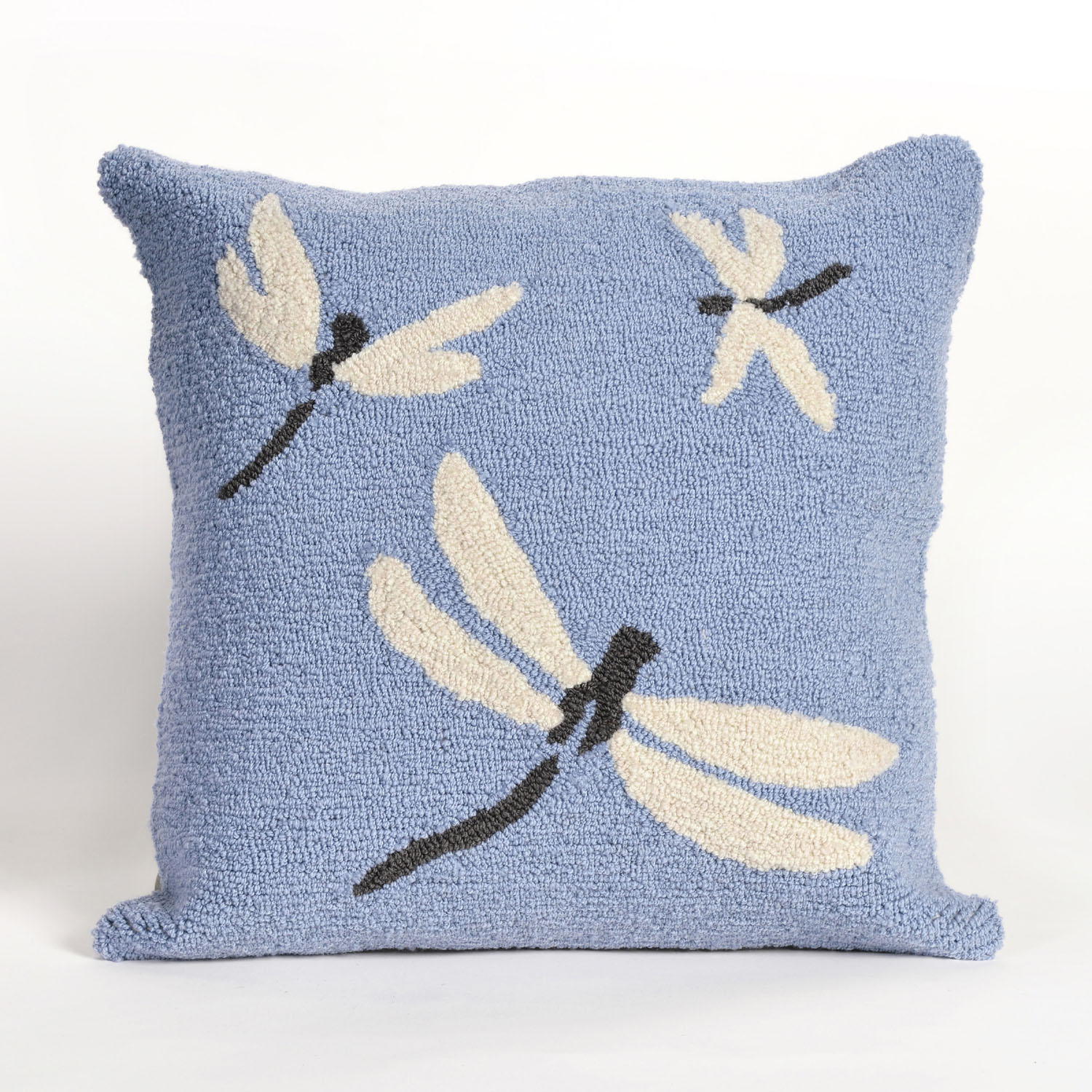 Frontporch Dragonfly Pillow-Color:Blue